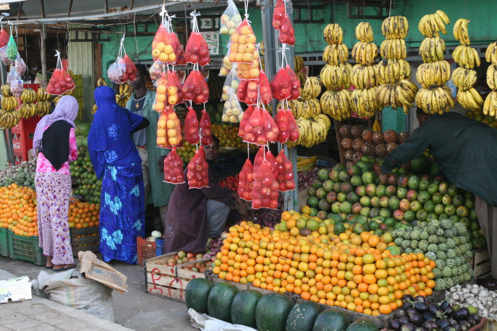 luxury african travel fruit shops